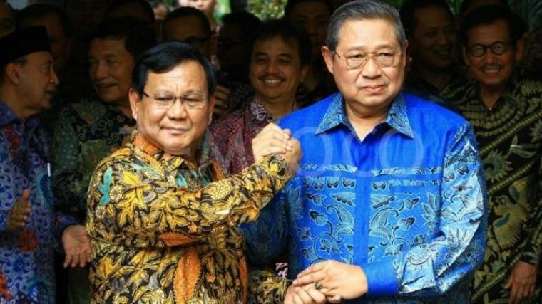"""SBY Semakin """"Agresif"""" Mendukung Prabowo-Sandi"""