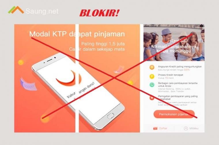 Kominfo Diminta Blokir Aplikasi Pinjam Kilat