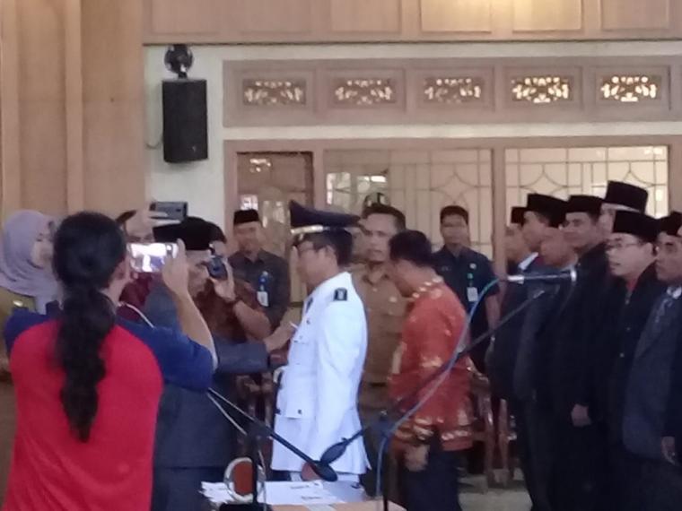 Sukandar Rombak Lagi Pejabat Pemerintah kabupaten Tebo