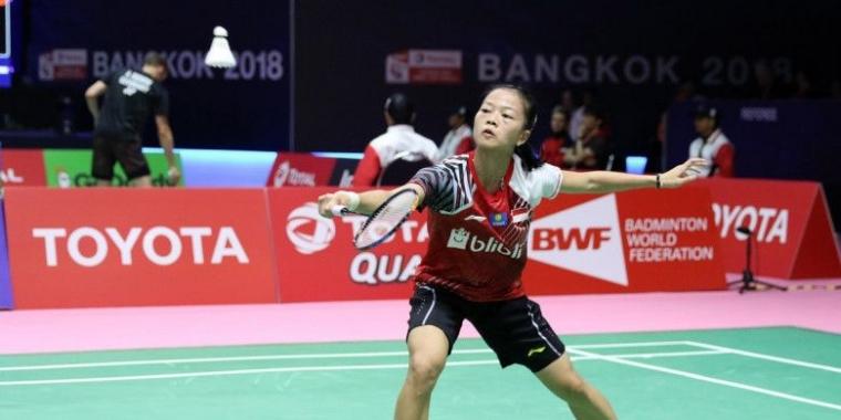 Fitriani Melangkah ke Semifinal Thailand Masters