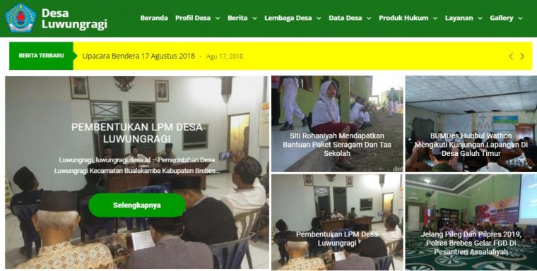 Romliweb Bantu Perbaiki Website Desa
