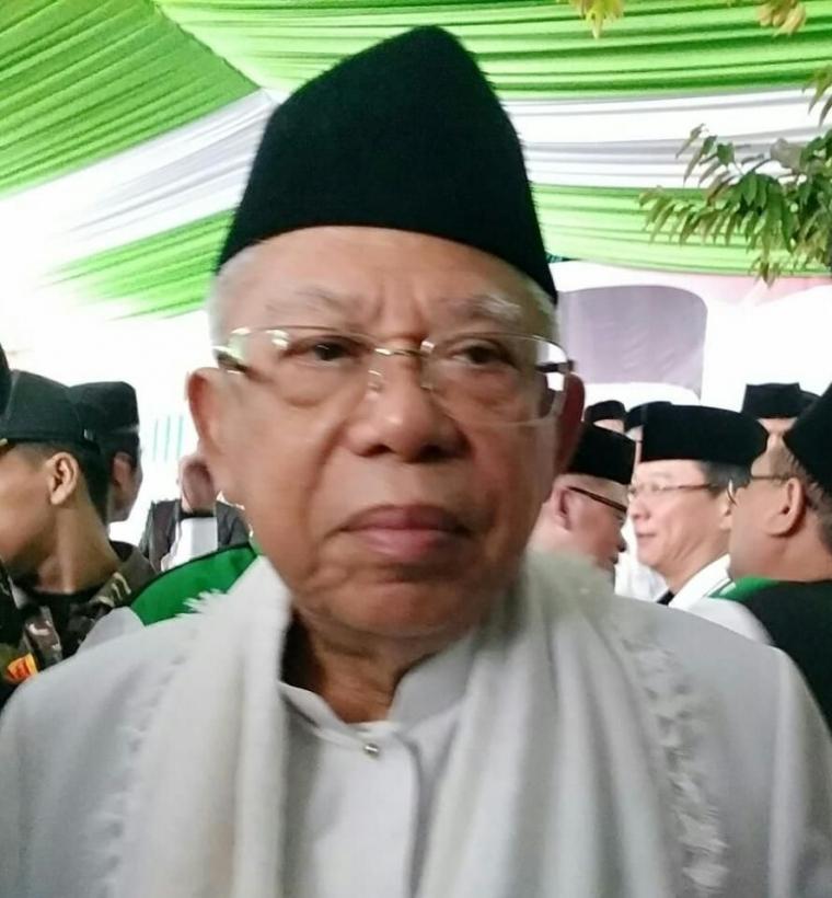 KH Ma'aruf Amin dan Hoaks