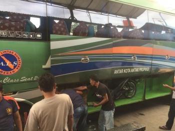Hari Pertama Perjalanan Jakarta Medan Dengan Bus Als Motor