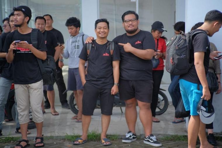 Komunitas Hunting Makassar Datangi Pasar Tradisional Pannampu