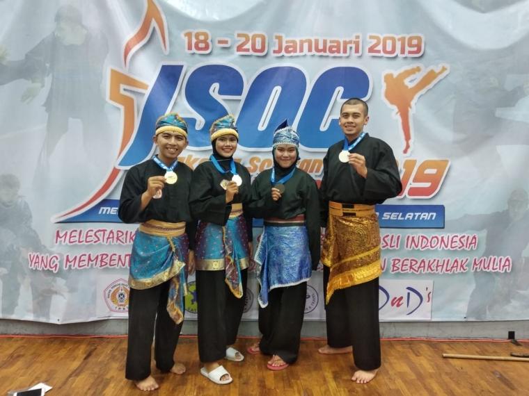 Lagi-Lagi Tapak Suci UMSIDA Meraih Prestasi di Ajang Bergengsi Jakarta Selatan Open Championship 2019