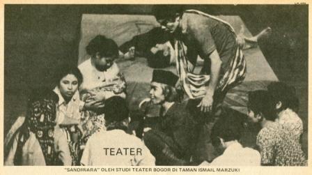 Teater di Bogor Tahun 1970-an