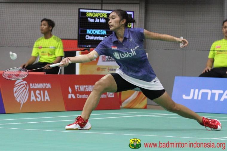 Tim Bulu Tangkis Indonesia Mendominasi Final Iran Fajr IC 2019