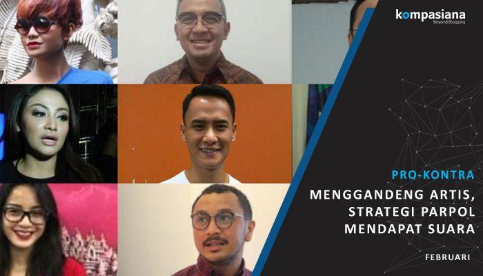 [Pro-Kontra] Artis Nyaleg, Strategi Parpol Guna Lolos ke Senayan