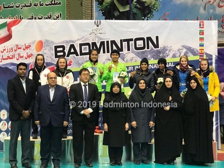 Indonesia Juara Umum di Iran International Challenge