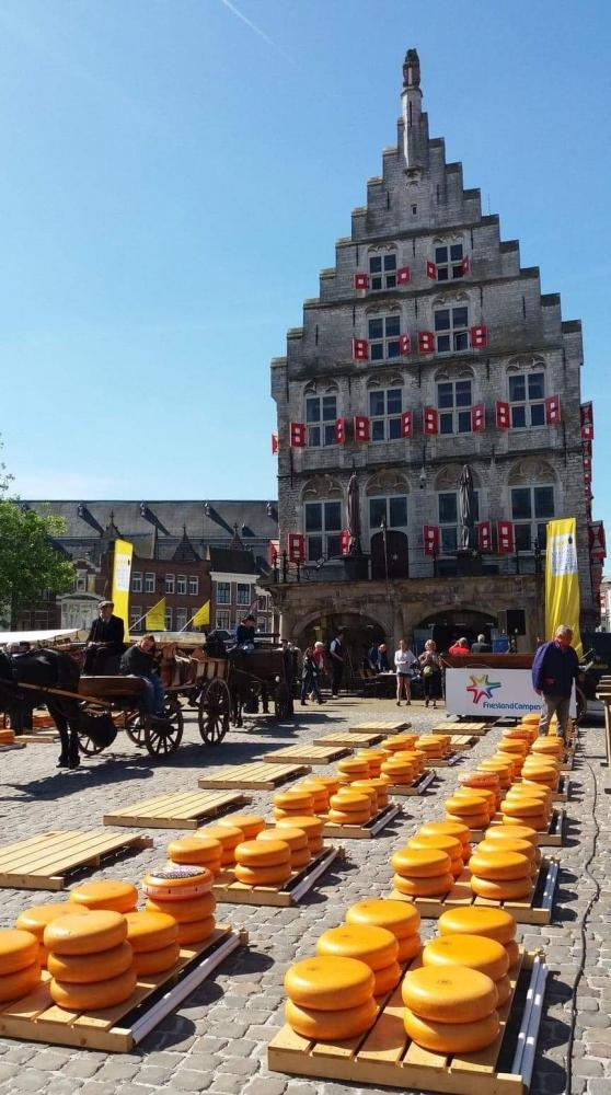 Pasar Keju Belanda, dari Atraksi Wisata hingga Merawat Tradisi
