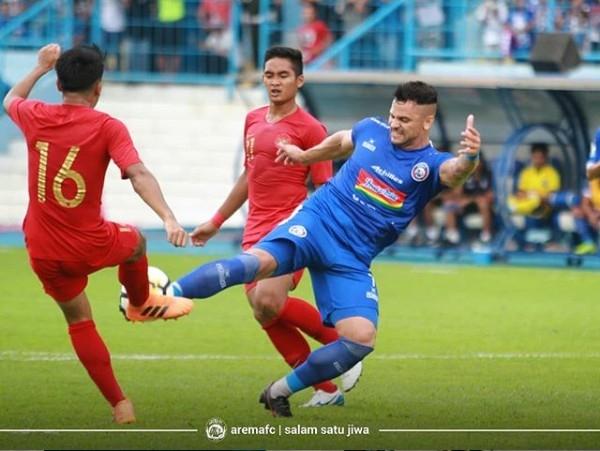 Timnas U-22 Kantongi Pelajaran Berharga dari Malang
