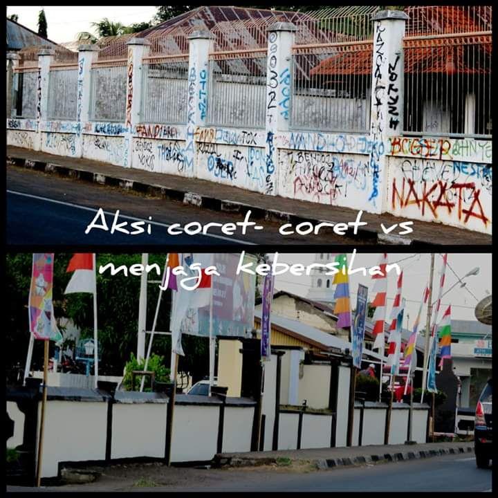 Vandalisme Mencoreng Wajah Kota