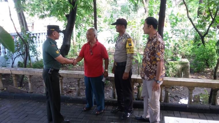 Komsos Dialogis Babinsa Wiyung dan Bhabinkamtibmas di Wilayah Binaan