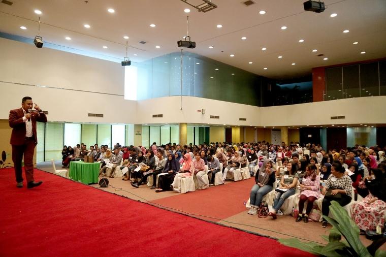 Terpopuler di Medan, Siapkan Generasi Pemenang, Global Vibe Inspiration Gelar Seminar Bahasa Inggris