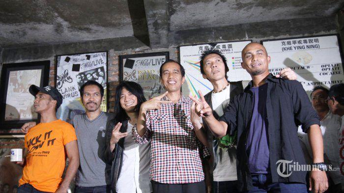 Jokowi, Rock, Revolusi Mental, dan Pencitraan