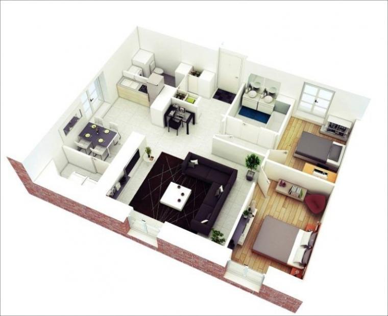 88 Desain Rumah Minimalis Type 36 Modern 2020 Kompasiana Com