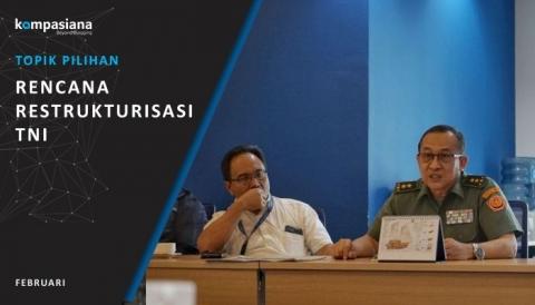 RESTRUKTURISASI TNI UNTUK MENDUDUKI BERBAGAI JABATAN DI KEMENTERIAN ATAU LEMBAGA
