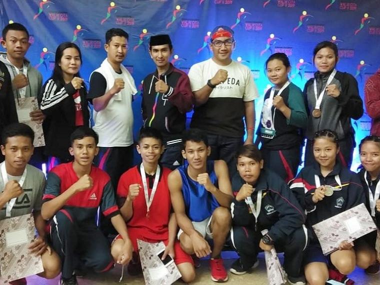Pertina Bantaeng Lampaui Target Bawa Pulang 9 Medali