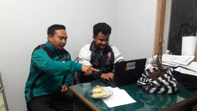 Pembenahan Website Desa dan Pendampingan Pelaporan Penggunaan Anggaran Pendapatan Belanja Desa