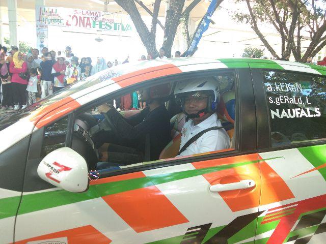 Aksi Slalom Fadli Ahmad Ramaikan MRSF Bantaeng