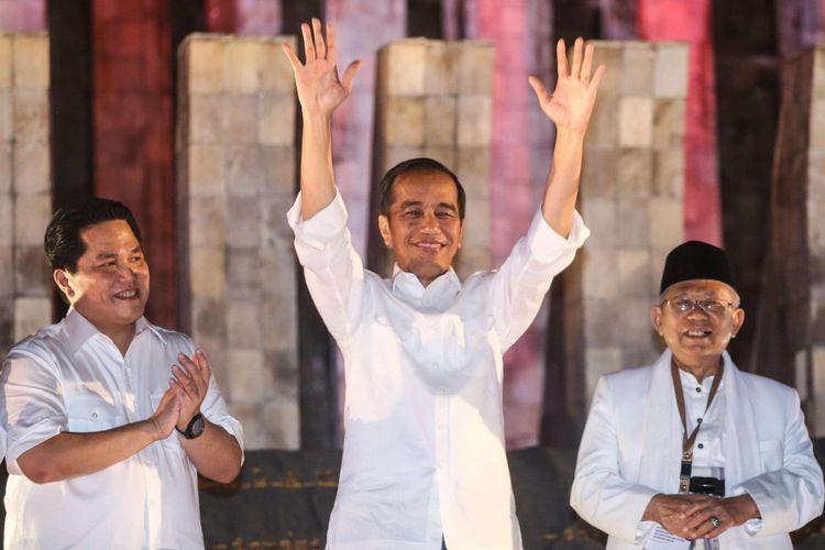 Dari Sudut Pandang Intelijen, Jokowi-Ma'ruf akan Menang