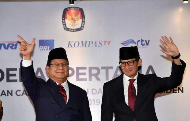 Prabowo Sandi untuk Indonesia