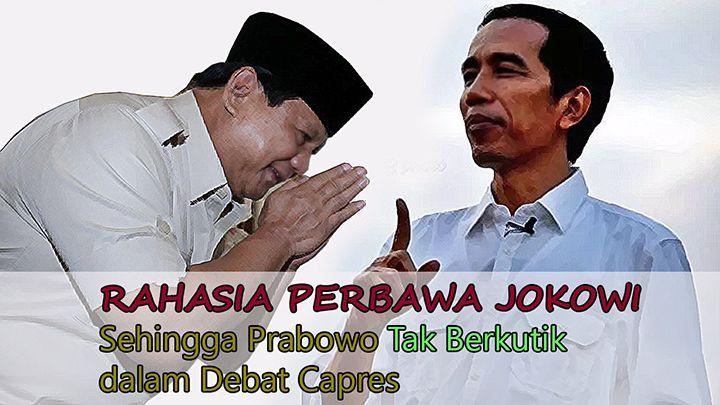 Rahasia Perbawa Joko Widodo Sehingga Prabowo Takluk dalam Debat Capres