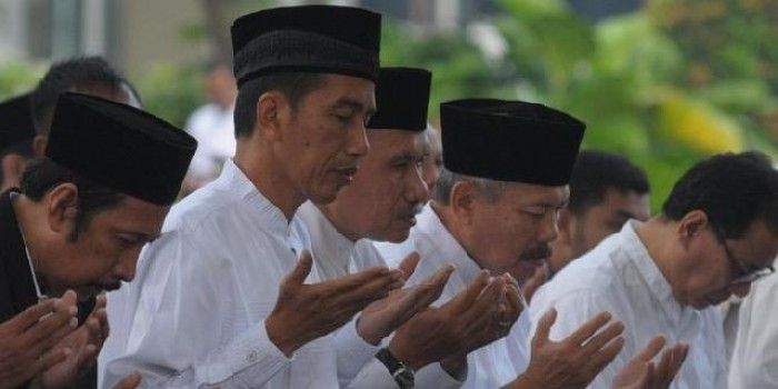 Menangkal Hoaks, Jokowi Anti Islam
