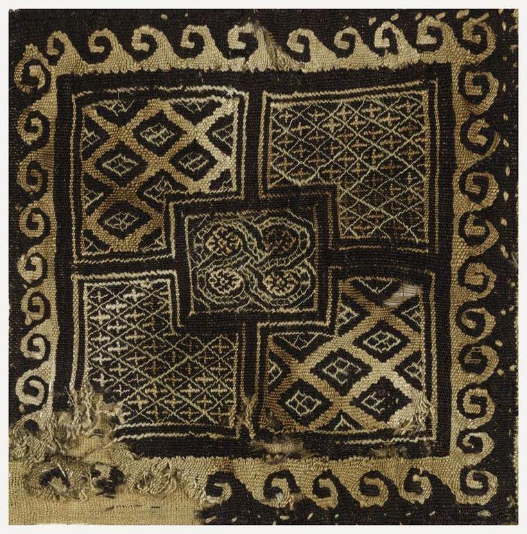 Tekstil Mesir Abad 3-4 M, Bernuansa Motif Toraja/ Bugis
