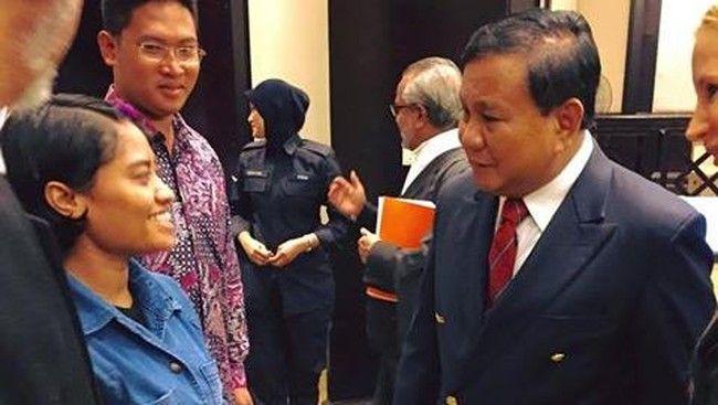 Sentuhan Prabowo Membebaskan Wilfrida