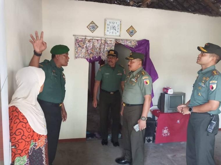 Tim Pengawas Renovasi RTLH Kunjungi Wilayah Gedeg