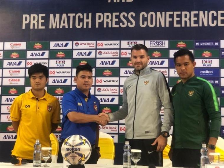 Jelang Debut Simon McMenemy bersama Timnas Garuda vs Myanmar