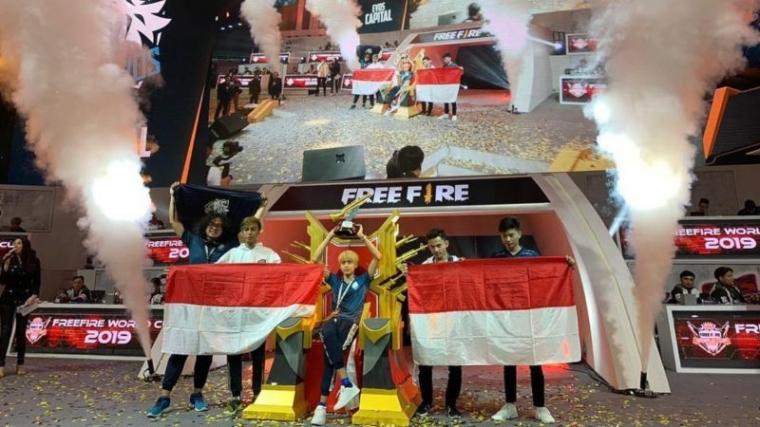 EVOS Kibarkan Merah Putih di Ajang Esports Internasional