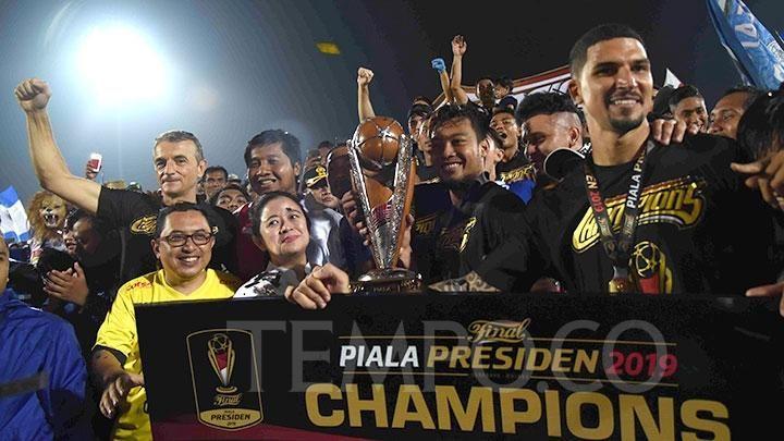 Catatan Kegemilangan Arema FC Merengkuh Gelar ke Dua Piala Presiden 2019