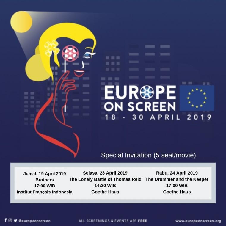 Europe on Screen Kembali Hadir, Yuk Nonton Bareng KOMiK