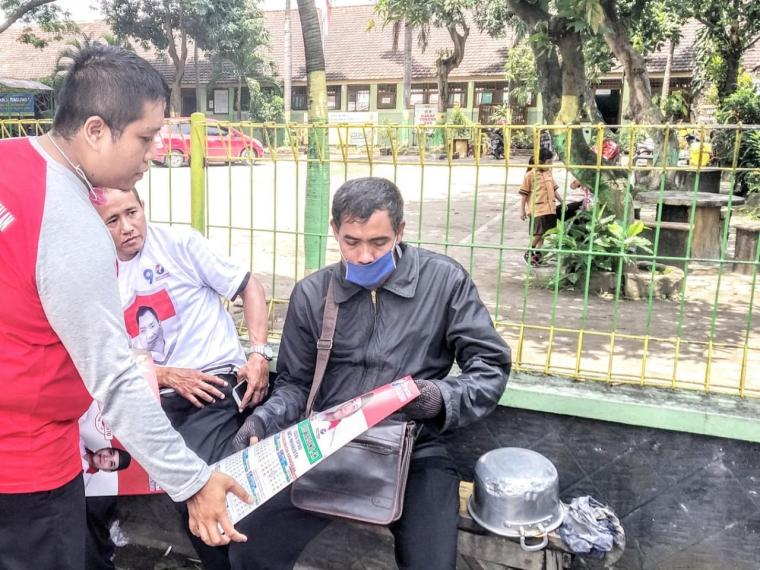 Kampanye Langsung Damai dan Kondusif Menjadi Pilihan Caleg Perindo Kota Mojokerto