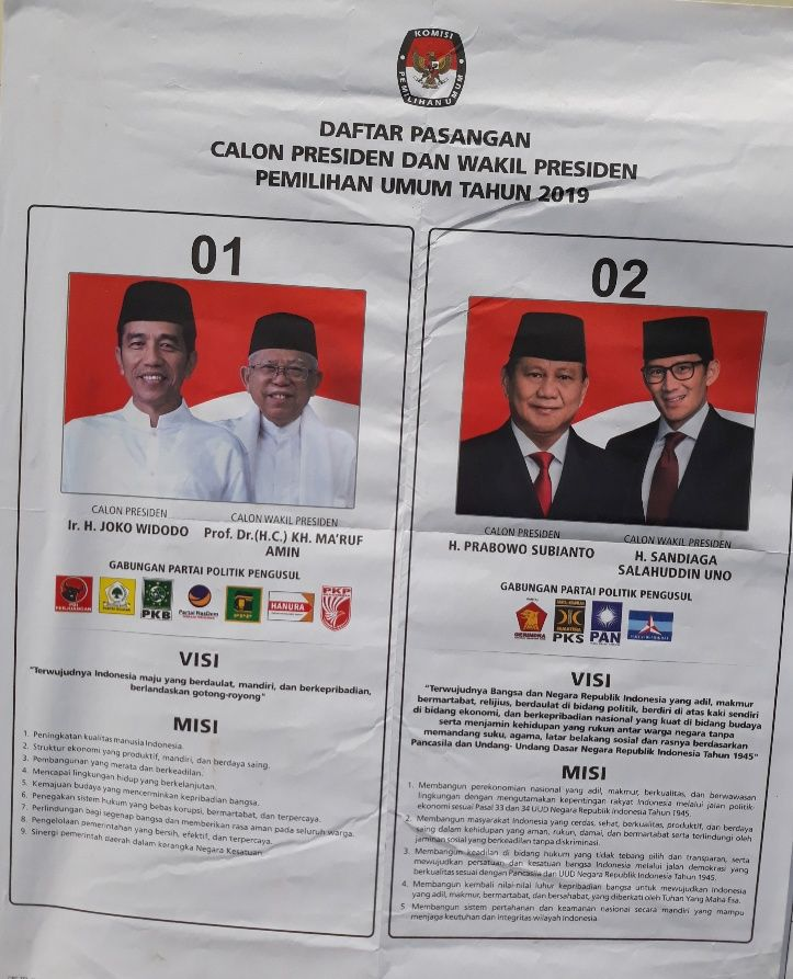 Prabowo Subianto Klaim Menangi Pilpres 2019