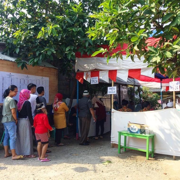 Warga Kelurahan Kedung Pengawas Masih Bingung Mengenai Tata Cara Pencoblosan