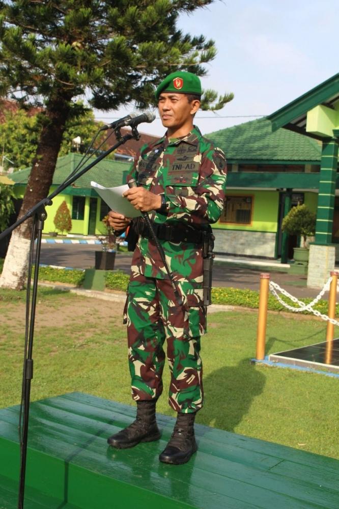 Dandim Ponorogo Baca Amanat Panglima TNI