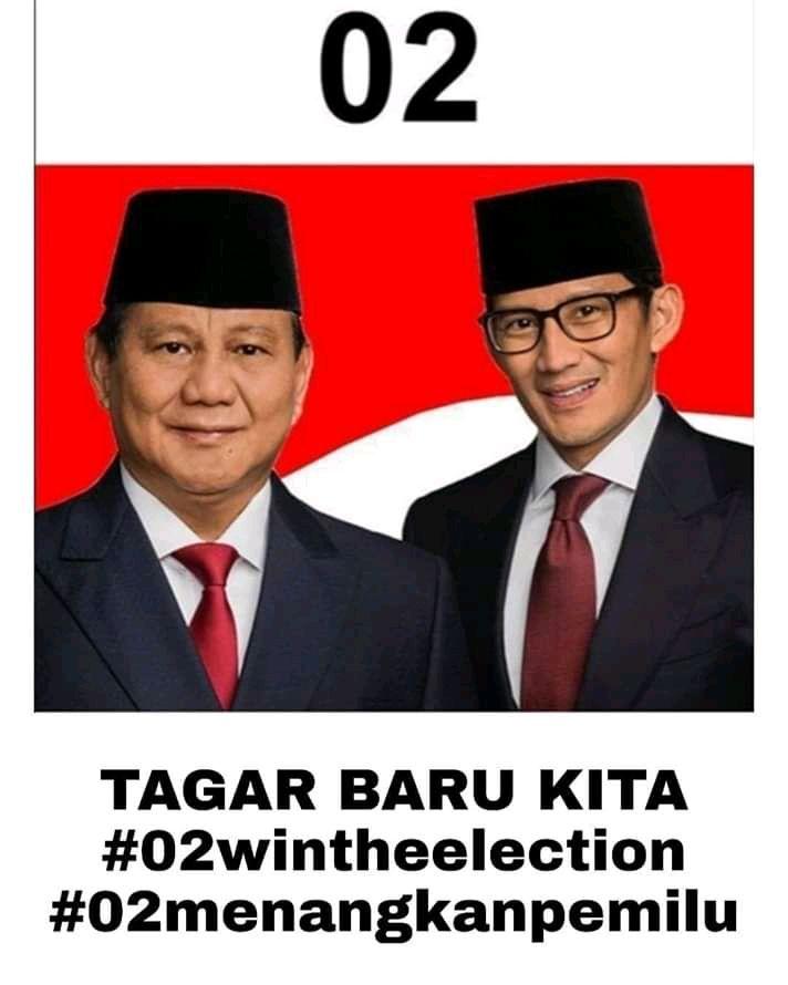 Prabowo Mengklaim Kemenangannya pada Pemilu 2019
