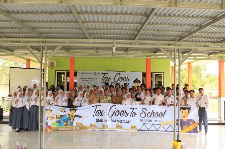 Tax Goes to School KP2KP Manggar