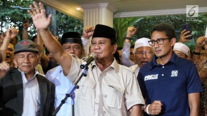 Pidato (Andai Saya) Prabowo