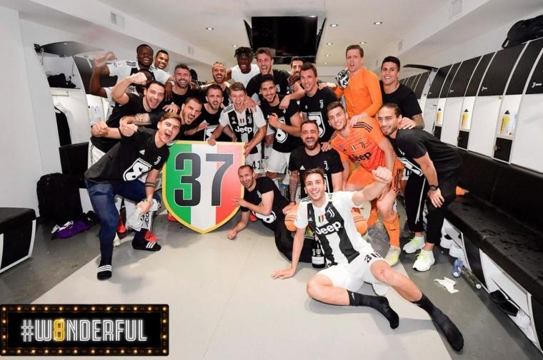 Kalahkan Fiorentina, Juventus Kunci Gelar Scudetto 8 Musim Beruntun