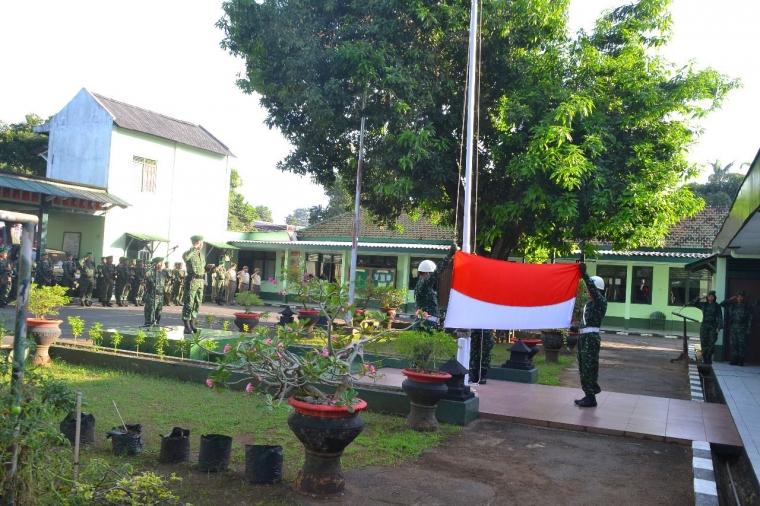 Upacara Bendera Awal Minggu Militer Kodim 0719/Jepara