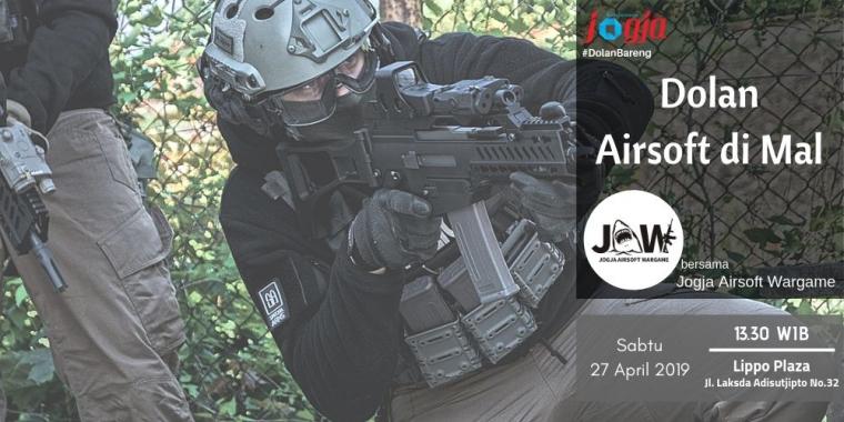 [KJOG] Main Airsoft Yuk, Perang ala Militer bareng JAW (Jogja Airsoft Wargame)