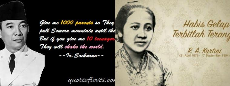 Anak-anakku, Jadilah Soekarno dan Kartini Masa Kini!