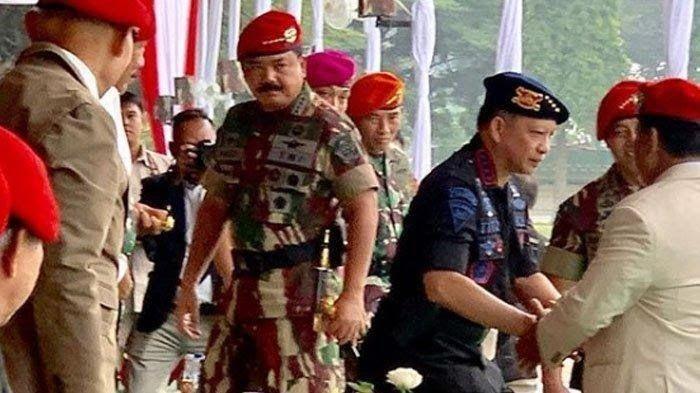 Ketika Prabowo Subianto Hadir di HUT Kopassus ke-67