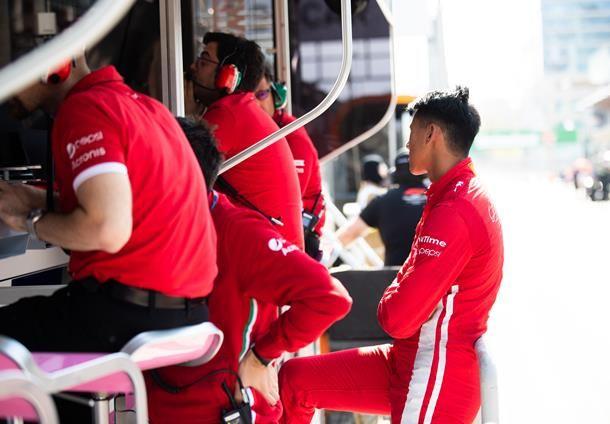 Terjadi Kendala, Sean Gelael Memulai Balapan F2 GP Azerbaijan di Posisi Terakhir