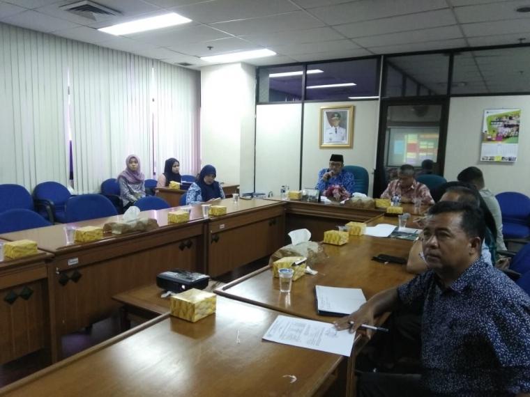 Terima Kunjungan Komisi 1 DPRD Tapin, Dinsos Jakarta Berbagi Upaya Pengentasan Masalah PMKS
