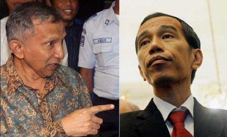 Apa Salah Jokowi ke Amien Rais?